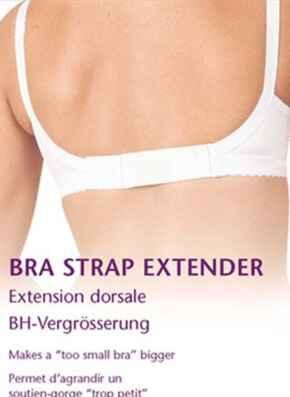 bra extenders accessory - white