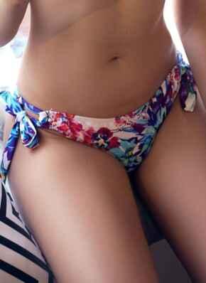 Paradise Faux Bow Briefs - Multicoloured