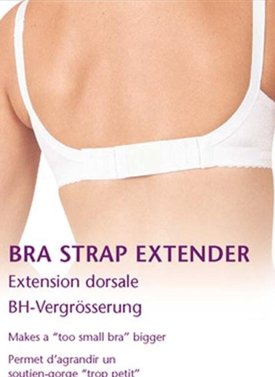 bra extenders accessory - black