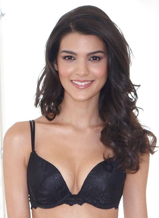 After Eden Eve Light Lace gel bra - black