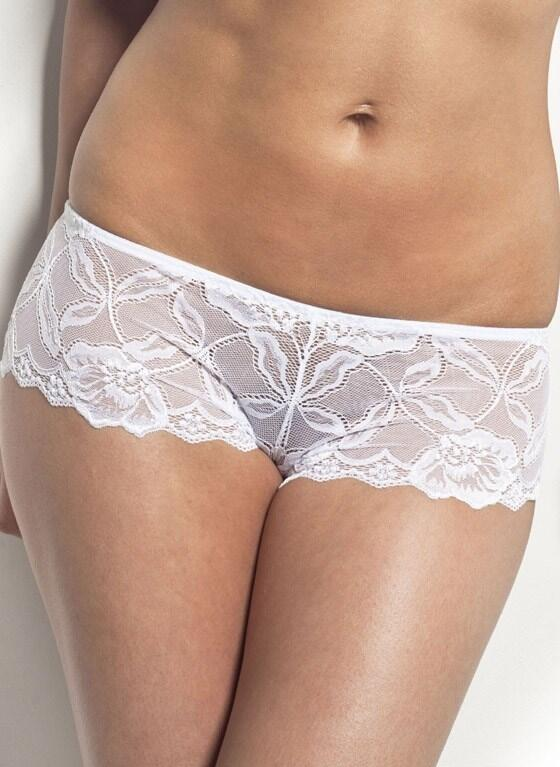 After Eden lace shorts - white
