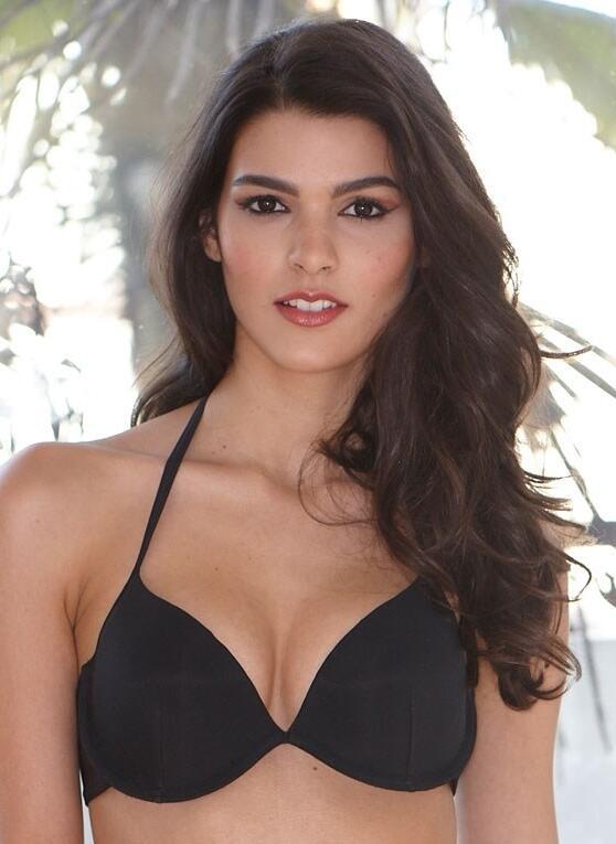 Halterneck Bikini Top - Black