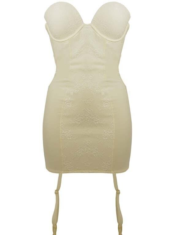 Ultimo Hourglass Shaping Dress - Ivory