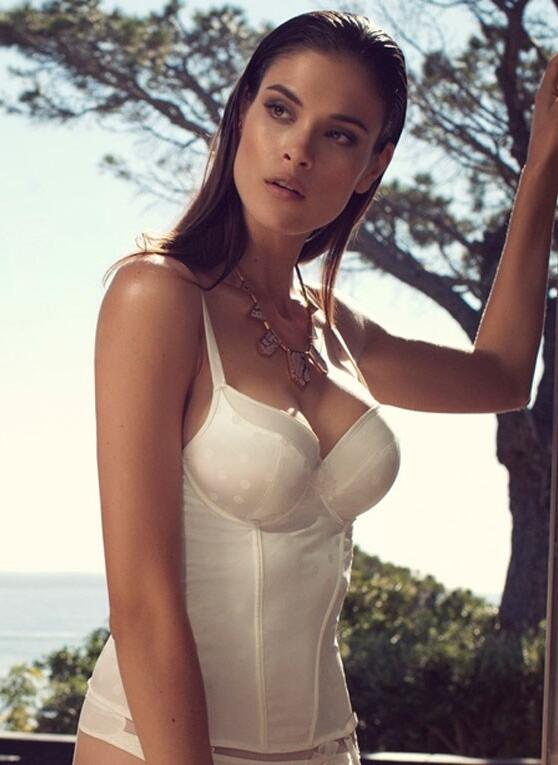 Lingadore Ivy Bustier - Ivory