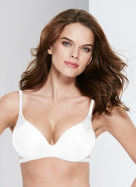 Wonderbra Wireless Push-up Bra - White