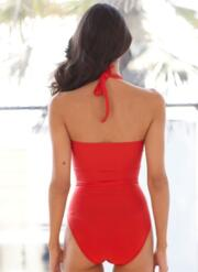 Sweetheart Gel Swimsuit - Red