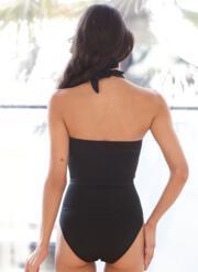 Sweetheart Gel Swimsuit - Black