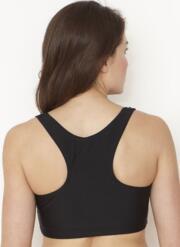 Jessica Max Sports Bra Top - Black