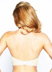 Ultimo Low Back Strapless Bra - Ivory