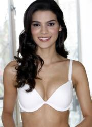 Atomic Liquid Filled Plunge Gel Bra - white