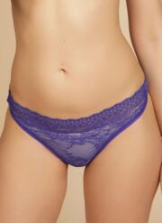 Atomic Lace Thong - Purple Lace