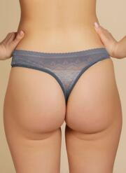 Atomic Lace Thong - Teal Lace