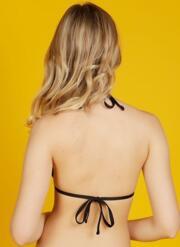 Honey Gel Bikini Top - Black