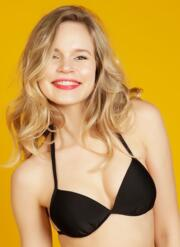 Honey Gel Bikini Set with Retro Briefs - Multicoloured