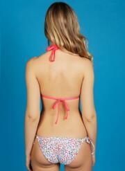 Sassy Gel Bikini Set with Tie-side Briefs - Multicoloured