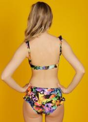Tigerlily Frill Gel Bikini Set - Multicoloured