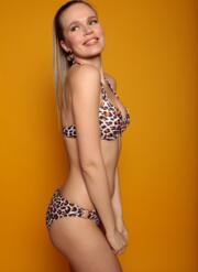 Leopard Gel Bikini Classique Set
