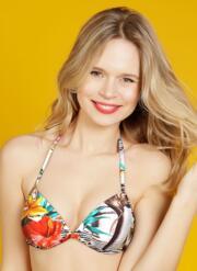 Fiji Gel Bikini Top - Multicoloured